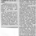 WZ 17.10.2015 Leserbrief - Bomlitz bald wieder Stinklitz